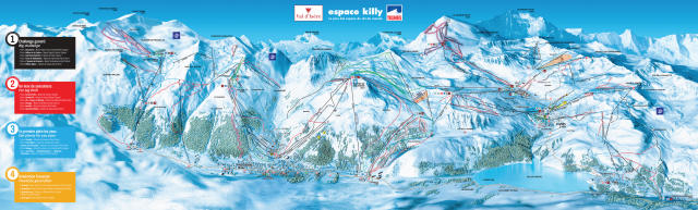 Tignes Trail Map