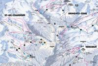 Grimentz-Zinal Trail Map