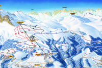 St. Peter - Pagig Piste Map