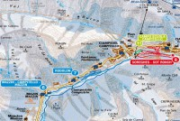 Campitello di Fassa - Col Rodella - Sellajoch Trail Map