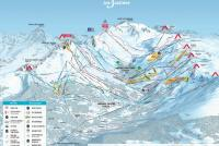 Meribel Piste Map