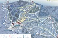 Bolton Valley Piste Map