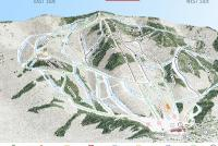 Magic Mountain Mappa piste