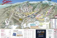 Stowe Mountain Resort Plan des pistes
