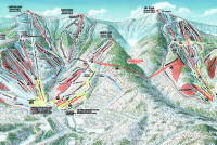Sugarbush Mapa de pistas