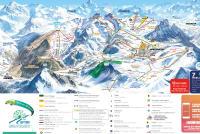 Montgenèvre Mapa zjazdoviek
