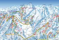 Sestrière Trail Map