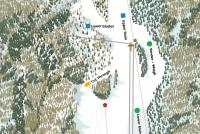The Homestead Ski Area Trail Map