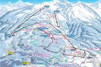 Bürchen - Törbel Piste Map