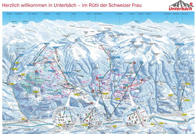 Unterbäch Trail Map