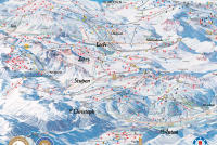 Warth - Schröcken MAPA DE PISTAS