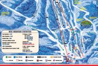 Timberline Mountain Mappa piste