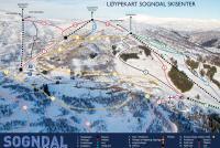 Sogndal - Hodlekve Mappa piste