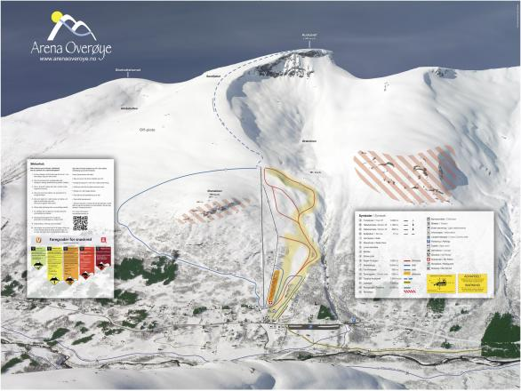 Stordal Trail Map