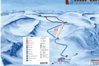 Stryn Glacier Ski Mappa piste