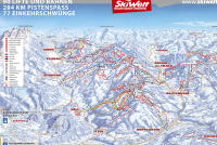 SkiWelt Wilder Kaiser - Brixental Piste Map