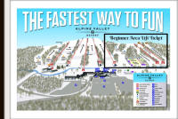 Alpine Valley Resort Piste Map