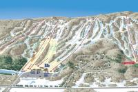 Granite Peak Ski Area Plan des pistes