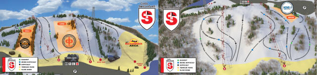 Little Switzerland Plan des pistes
