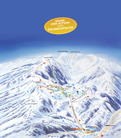Wurzeralm Trail Map
