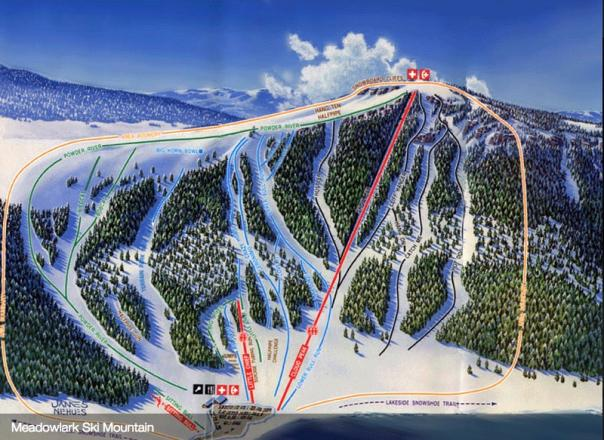 Meadowlark Ski Lodge Trail Map