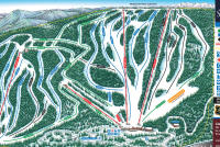 Snowy Range Ski & Recreation Area Mappa piste